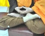 坐禅修手势作法